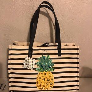 NWT Kate Spade pineapple bag